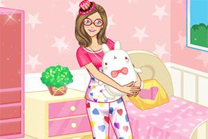 可爱春季睡衣