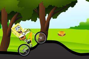 海绵宝宝骑单车