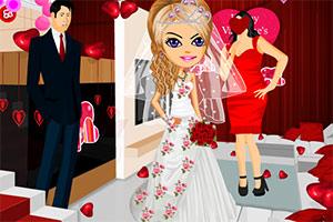 情人节婚礼现场