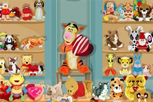 寻找小玩具