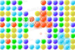 彩色泡泡消消看