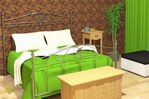 木质卧室逃脱