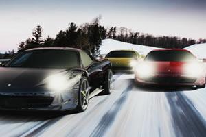 雪地跑车赛
