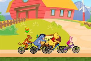 维尼伙伴自行车赛