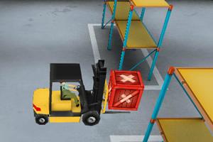 3D叉车驾驶员