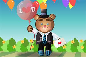 情人节泰迪熊