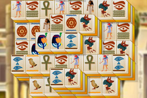 古埃及麻将连连看