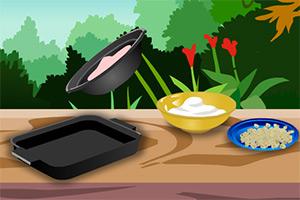 奶油卷饼砂锅