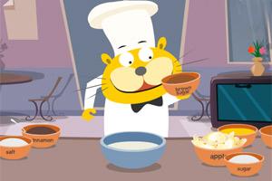 吉蒂猫做酥饼