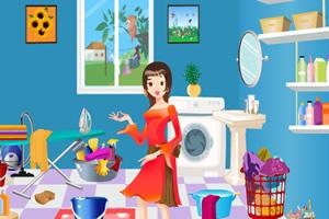 帮女孩找洗衣粉