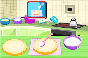 制作蝴蝶生日蛋糕
