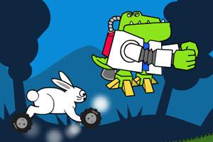 兔子摩托车赛