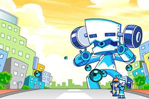 机器人躲避战