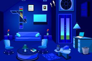逃出诡异蓝色房间