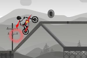 火柴人摩托挑战赛