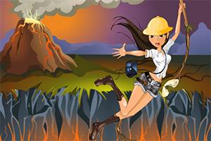 火山探险家