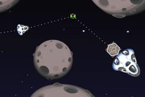 银河飞船停靠