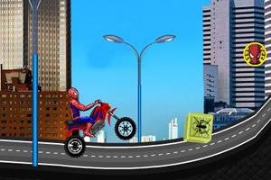 蜘蛛侠公路摩托