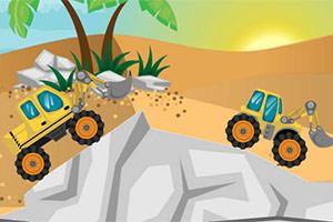 沙漠大铲车