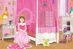 甜蜜公主房布置