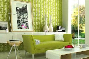现代绿色房间找东西