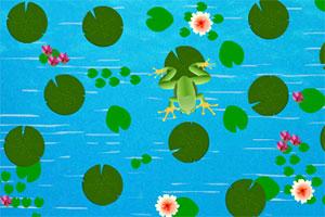 小青蛙吃虫子