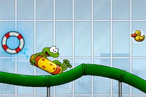 青蛙水上乐园