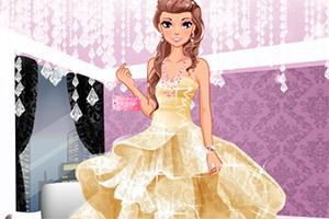 粉色系钻石公主装
