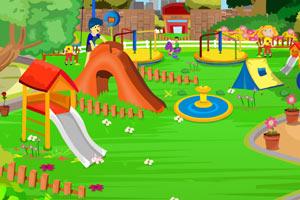 清理儿童公园