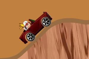 小智开车闯沙漠
