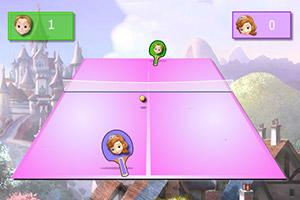 索菲亚公主乒乓球