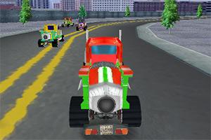 3D大卡车赛