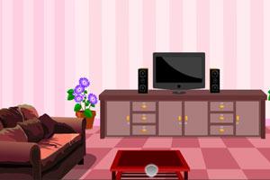 逃离粉红客厅