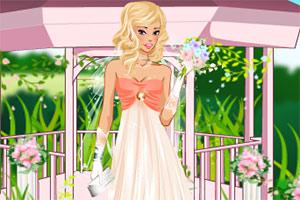 精致的新娘妆