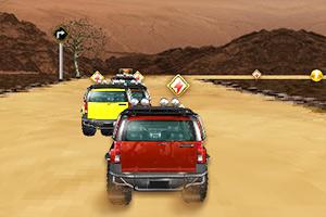 沙漠越野车赛