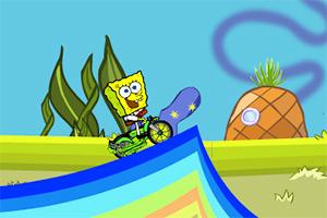 海绵宝宝深海自行车
