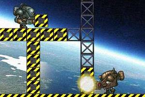 机器人空间站救援