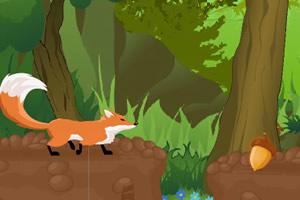 小狐狸收栗子