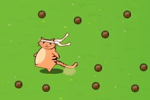 捣蛋猫躲避球