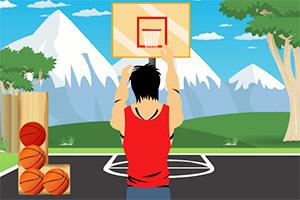 街头投篮练习