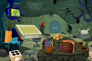 蜗居洞穴逃生