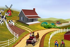 乡村农场家园