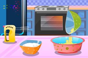 爱的彩虹蛋糕