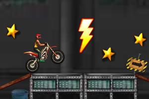 精彩摩托特技