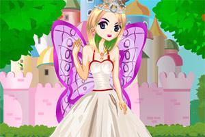 挥着翅膀的公主