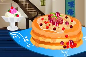 可口的草莓馅饼