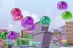 泡泡数学加法练习