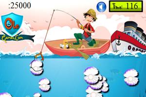 海洋捞珍珠