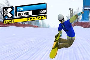 3D滑雪竞技