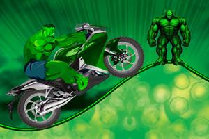 绿巨人狂暴摩托车选关版